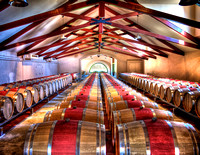 Groth Barrel Room