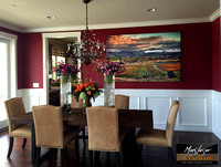 Classic Yountville_dining room